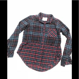 🍌 Abercrombie &Fitch flannel soft shirt s